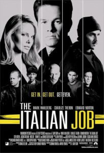 Italian Job 2003 movie poster