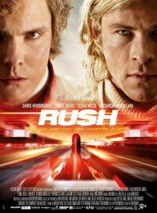 Rush 2013 movie poster