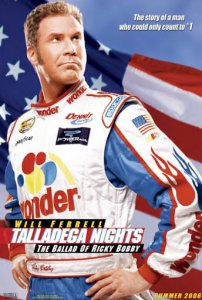 Talladega Nights 2006 movie poster