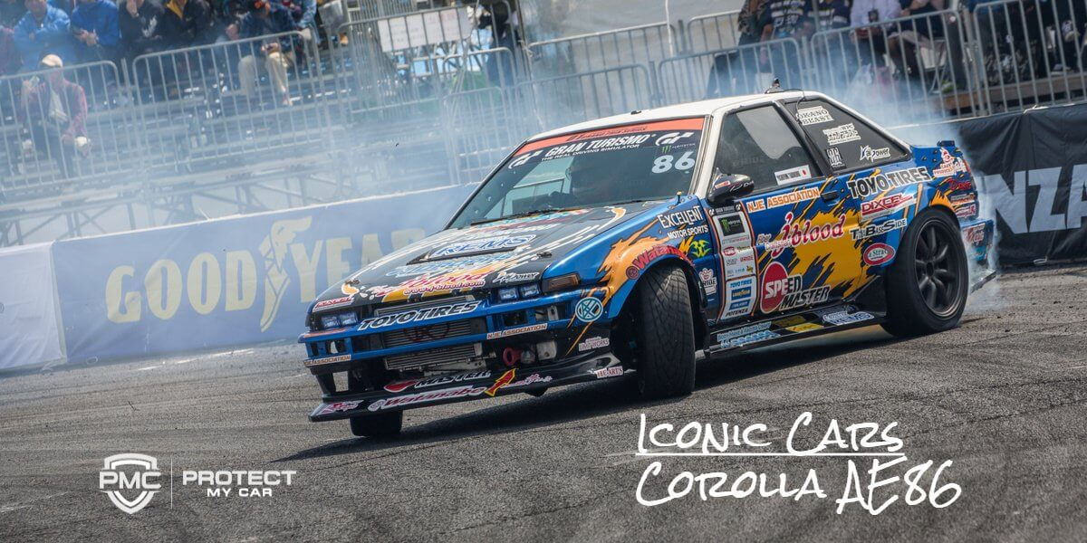 Iconic Cars: Toyota Corolla AE86 – Protect My Car | Blog
