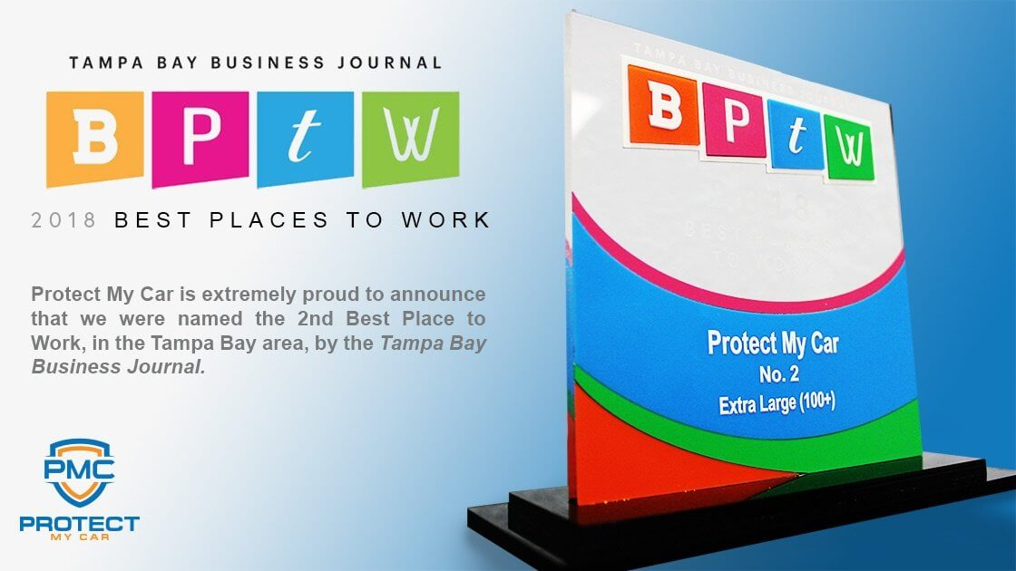 PMC Among Best Places to Work in 2018 by TBBJ