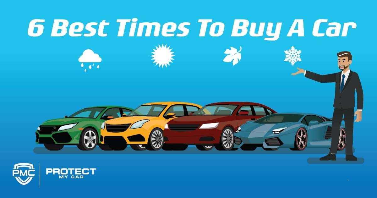 6 Best Times To Buy A Car