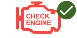 emissions check enging light