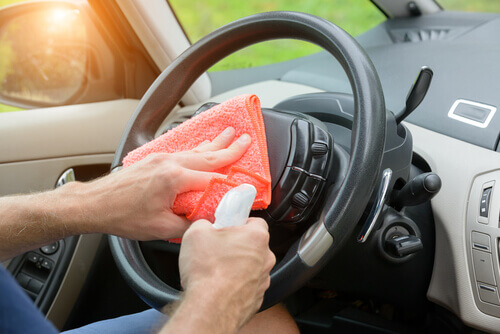 How To Clean Steering Wheel Leather The Easy Way Protect My Car