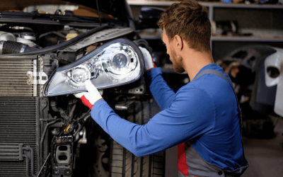 DIY Replacing A Car Headlight