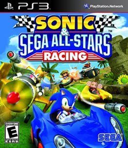 Sonic and Sega All Stars Racing for the PS3